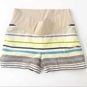 Loft Maternity Shorts size 4 summer band
